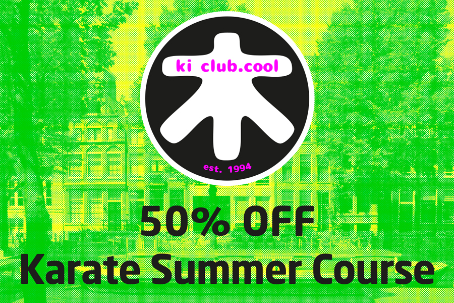 50% off summer karate course - Zomer karate programma met korting [*2019]-karate summer school organized by Amsterdam karate school ki club.cool Amsterdam | karate-amsterdam | shotokan-amsterdam | Amsterdam | karate | ki | actie korting